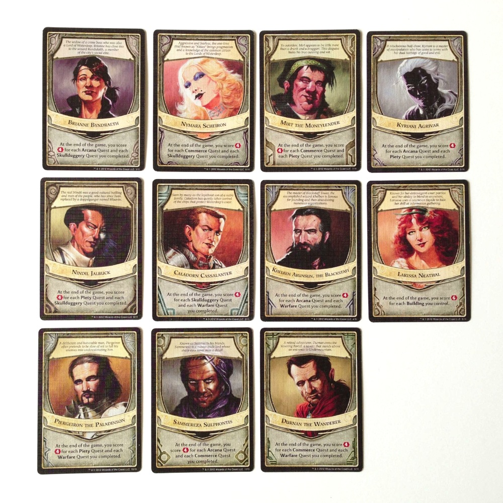 The Lords of Waterdeep